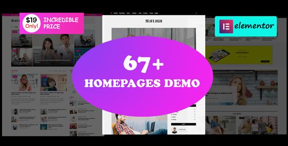 News24 - Elementor Blog Magazine