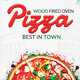 Trifold Pizza Template - GraphicRiver Item for Sale