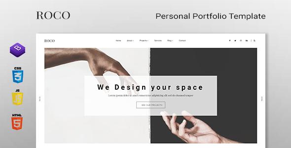 ROCO - Personal Portfolio Template