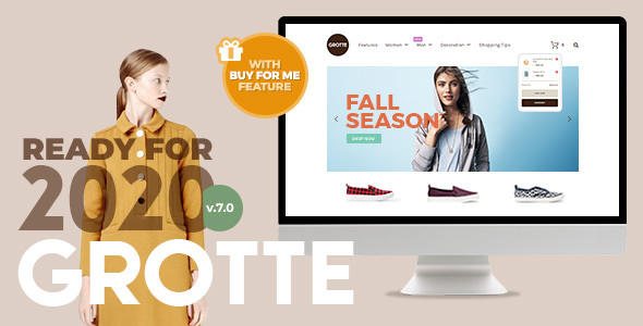 Grotte - A Dedicated WooCommerce Theme