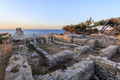 ruins of ancient village in Archaeological site of Aliki - PhotoDune Item for Sale