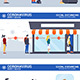 Social Distancing and Coronavirus - GraphicRiver Item for Sale