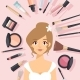 Makeup Products - GraphicRiver Item for Sale