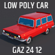 Low Poly City Car - 3DOcean Item for Sale