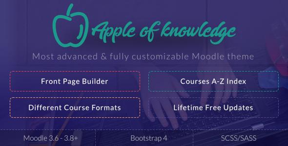 Apple of Knowledge | Premium Moodle Theme
