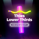 Neon Light Lower Thirds 1 - VideoHive Item for Sale