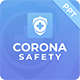 Corona Safety - PowerPoint Template - GraphicRiver Item for Sale