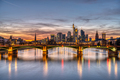 The skyline of Frankfurt in Germany - PhotoDune Item for Sale