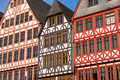 Facade of some half-timbered houses - PhotoDune Item for Sale