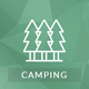 Camping Village - Campground Caravan Hiking Tent Accommodation - ThemeForest Item for Sale