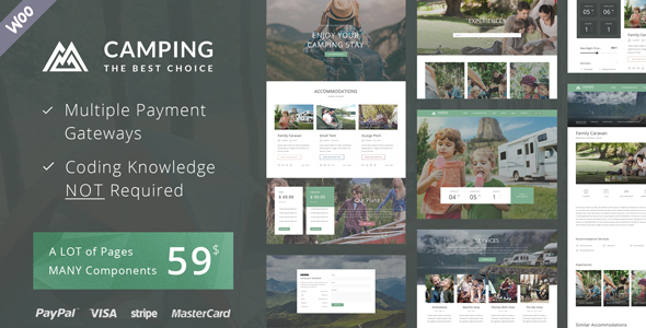 Themeforest | Camping Village - Campground Caravan Hiking Tent Accommodation Free Download free download Themeforest | Camping Village - Campground Caravan Hiking Tent Accommodation Free Download nulled Themeforest | Camping Village - Campground Caravan Hiking Tent Accommodation Free Download