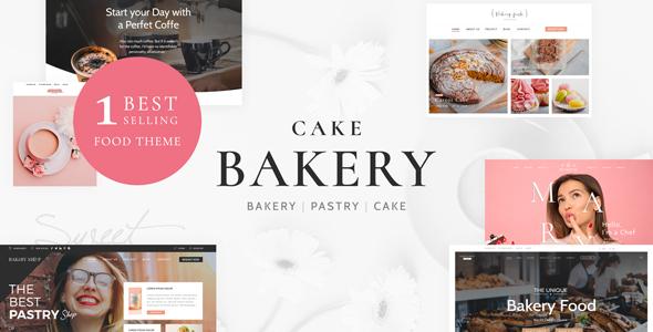 Cake Bakery - Pastry WP 4