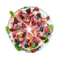 Sliced watermelon pizza isolated - PhotoDune Item for Sale