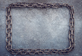 Chain frame on grunge - PhotoDune Item for Sale