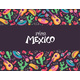 Viva Mexico Poster Vector Illustration - GraphicRiver Item for Sale