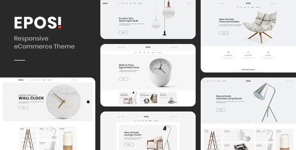 Eposi – Minimal Theme for WooCommerce WordPress Preview