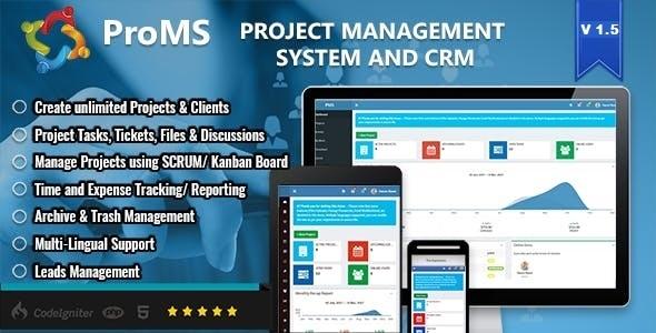 ProMS - Premium Project Management System Download
