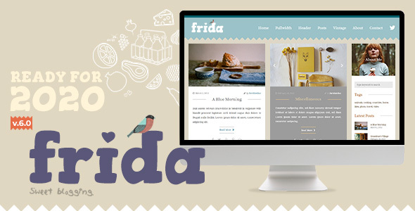 Frida - A Sweet & Classic Blog Theme