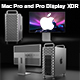 Mac Pro and Pro Display XDR - 3DOcean Item for Sale