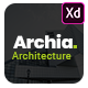 Archia - Architecture & Interior Adobe XD Template - ThemeForest Item for Sale