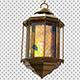 Golden Ramadan Lantern 3D Renders - GraphicRiver Item for Sale
