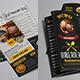 Restaurant Menu Tri Fold Brochure Bundle - GraphicRiver Item for Sale