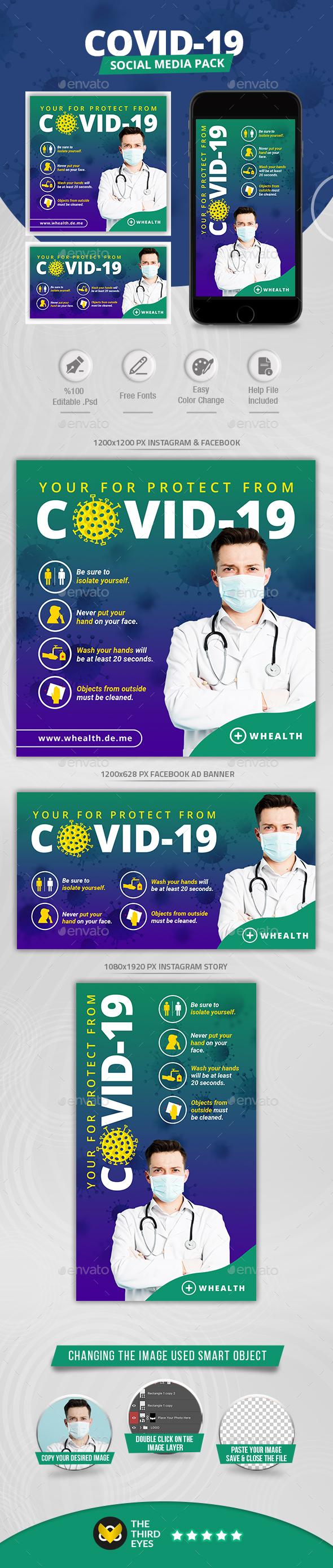 Covid-19 Social Media Pack