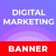 Digital Marketing Web Banner Set - GraphicRiver Item for Sale