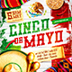 Cinco de Mayo Party Square Flyer vol.4 - GraphicRiver Item for Sale