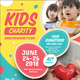 Kids Charity Social Media Template - GraphicRiver Item for Sale