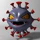 Cartoon Coronavirus - 3DOcean Item for Sale