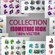 Collection Isometric Icons - GraphicRiver Item for Sale
