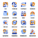 Business Flat Icon Pack - GraphicRiver Item for Sale