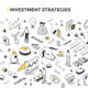Investment Strategies Isometric Outline Illustration - GraphicRiver Item for Sale