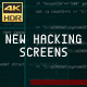 New Hacking Screens V2 (4K) - VideoHive Item for Sale