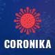 Coronika - Coronavirus Medical Prevention & Awareness PSD Template - ThemeForest Item for Sale