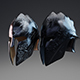 Elite Guardian Helmet PBR Low Poly - 3DOcean Item for Sale