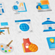 Education Modern Flat Animated Icons - VideoHive Item for Sale