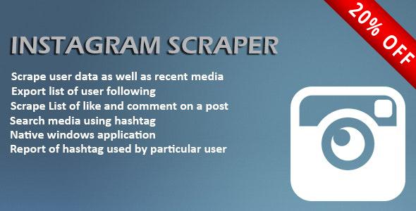 Instagram Scrapper