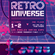 Retro Gaming Flyer Classic Arcade Game Template - GraphicRiver Item for Sale