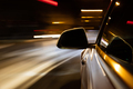 Car light trail while driving in the coty by night - PhotoDune Item for Sale