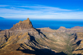 Aerial view of Brianda mount in Rebeirao Manuel in Santiago island in Cape Verde - Cabo Verde - PhotoDune Item for Sale