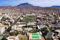 Aerial view of Mindelo city  in Sao Vicente Island in Cape Verde - PhotoDune Item for Sale