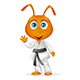 Karate Ant - GraphicRiver Item for Sale