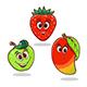 Cartoon Fruits - GraphicRiver Item for Sale