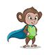 Monkey Superhero - GraphicRiver Item for Sale