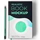 Book Mockup - Realistic Hardcover version vol.1 - GraphicRiver Item for Sale