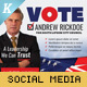 Election Campaign Social Media Templates - GraphicRiver Item for Sale