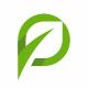 Leaf Letter P - GraphicRiver Item for Sale