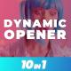 Dynamic Trendy Opener - VideoHive Item for Sale
